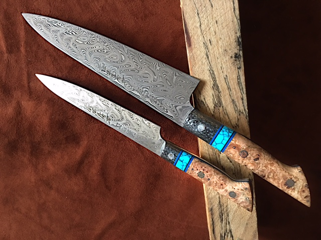 Custom Handmade Steel Chefs Knives Houston Edge Works